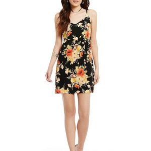 Sanctuary  floral mini slip dress